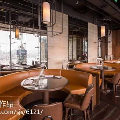 陈德坚作品:香港Penthouse餐厅设计_2506581