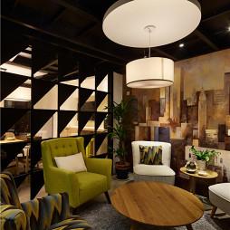 LOFT办公空间休息区装修案例