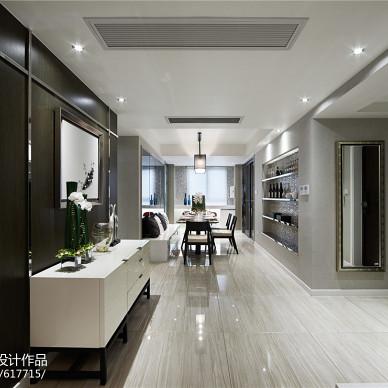 家居现代风格过道玄关设计