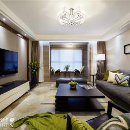 家装现代风格客厅布局图