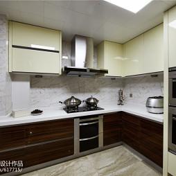 现代风格简单厨房设计