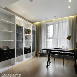 简约风格三居室书房设计