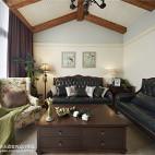 混搭风格三居室客厅装修