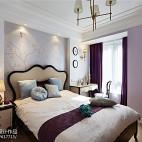 优雅美式卧室布置