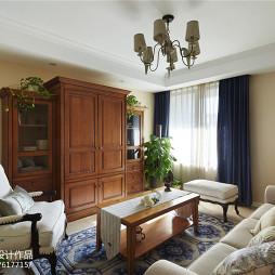 经典美式客厅装修案例