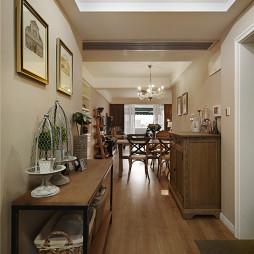 家装美式过道设计案例