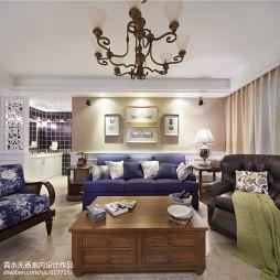 浪漫美式客厅设计案例