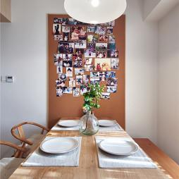 宜家风格餐厅照片墙设计