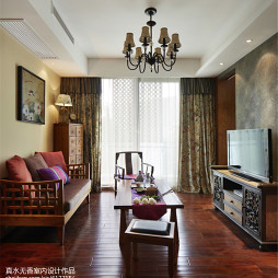 古典东南亚风格客厅设计案例