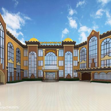 广东省佛山市北大新世纪幼儿园校园设计方案_2507996