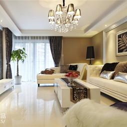 流行简欧风格客厅设计大全