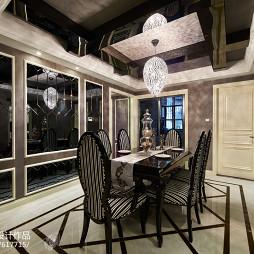 精致新古典风格餐厅设计