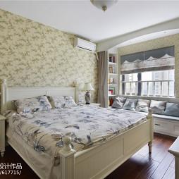 唯美田园风格卧室装修方案