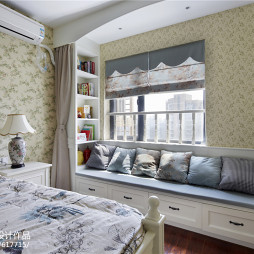 田园风格二居室窗台设计