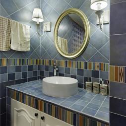精致田园风格卫浴设计