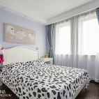 可爱中式风格卧室装修