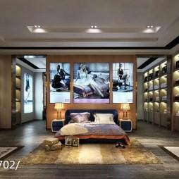 慕思总部卧室展示区室内设计