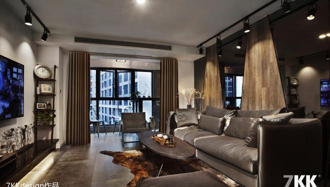 酒店式公寓炫酷黑白灰设计