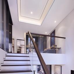 现代风格样板间楼梯设计