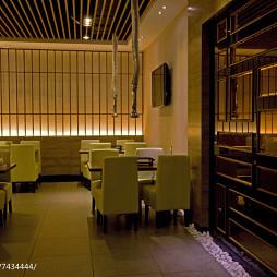 美丽华西餐厅用餐区装修