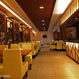 美丽华西餐厅用餐区布置