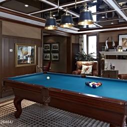 家装现代风格样板房休闲区装修
