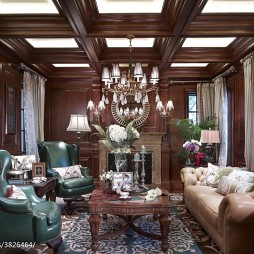 奢华欧式风格客厅装修效果图