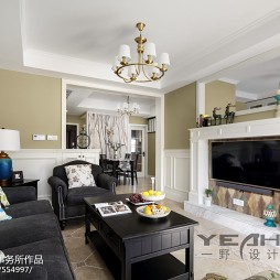 家装美式客厅设计方案