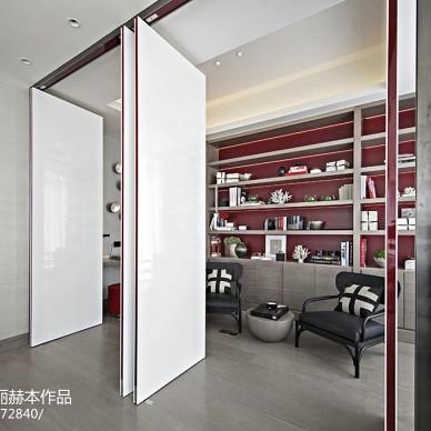 大氣現代風格家居書房設計