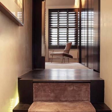 现代风格别墅过道设计