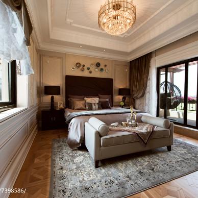 新古典雅韵卧室设计效果图