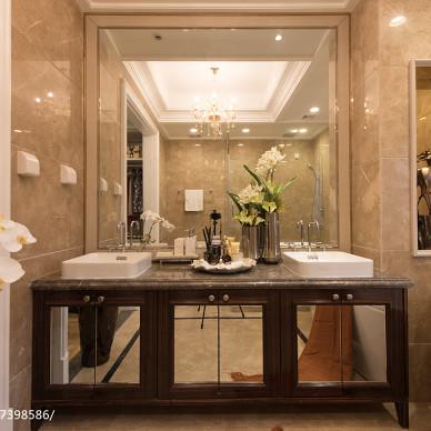 新古典风格卫浴设计方案