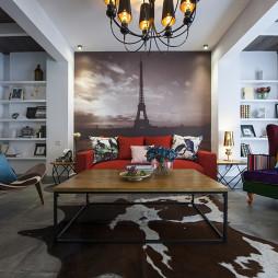 经典混搭风格客厅设计