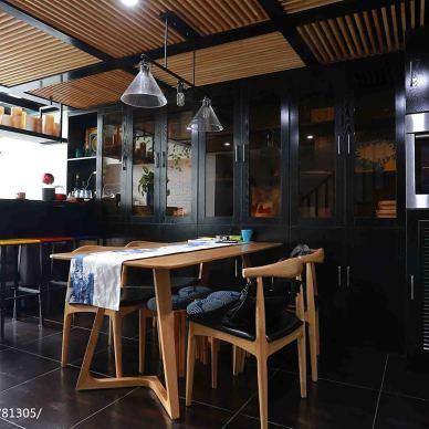 loft风格时尚餐厅设计