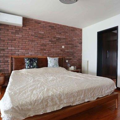 家装loft风格卧室布置