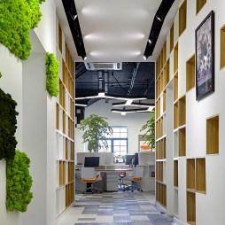 创意时尚的办公室过道设计