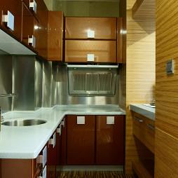 最新混搭风格小户型厨房设计