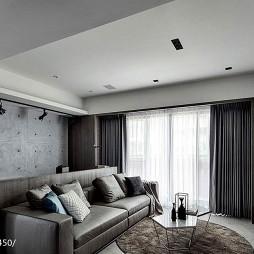 沉稳现代风格客厅装修