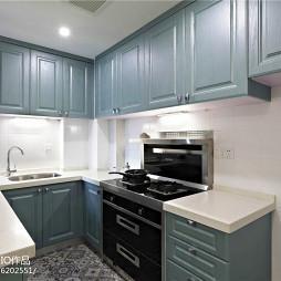 简洁北欧风格小户型厨房设计