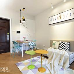 北欧风格小户型客厅装修