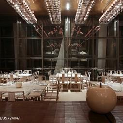 上海柏悦酒店餐厅装修