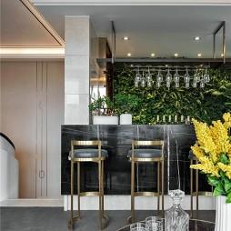 现代风格别墅吧台设计