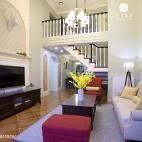 精致美式客厅装修案例