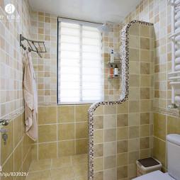 美式卫浴隔断墙设计