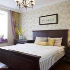 简雅美式卧室装修效果图