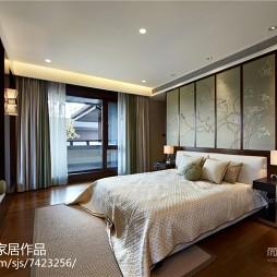 优雅中式风格卧室设计
