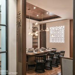 中式主题餐厅包间设计