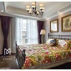 温馨美式卧室设计案例图