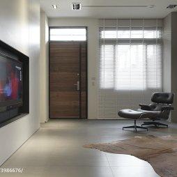 简单现代风格别墅客厅设计