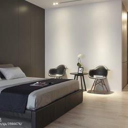 简约现代风格别墅卧室装修